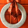 How To Make a Lima Bean Wreath