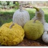 A little Saturday Inspiration: Beautiful Yarn Wrapped Pumpkins