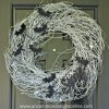 A Spooky Halloween Bat Wreath...{ A Tutorial }