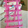 How To Make a Jewelry Holder from a Thread Rack