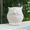 Ceramic Owl Vase... AKA Get To Target!