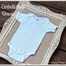 Lace Onesie Tutorial