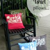 How To Make a Tshirt Pillow... { T Shirt Pillows }