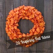 Welcome Fall... 25 Inspiring Fall Ideas