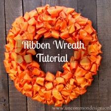 Ribbon Wreath { a Tutorial }