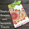 Simple Aprons and Thankful Treats from World Market