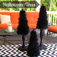 Halloween Tabletop Trees