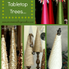 Christmas Tabletop Trees ...