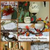 Thanksgiving Home Decor and Table Ideas...