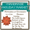 Handmade Holiday Market: Our Shop... Uncommon Fabrics