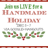 #Holidayhangout All Next Week...