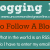 Blogging 101... How To Follow A Blog