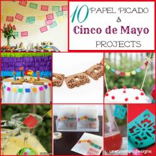 10 Papel  Picado Projects: Cinco De Mayo Decor