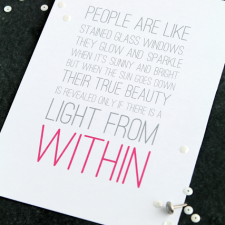 Light from Within Free Printable from Love Grows Wild