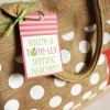 Teacher Appreciation Printable Tags... Tote-lly Terrific Gift Idea!