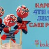 Happy 4th of July Cake Pops