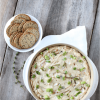 Warm Crab Dip with Caramelized Onions