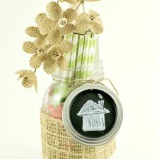 Mason Jar Gift for our New Neighbor