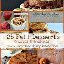 25 Fall Desserts ... To Savor The Season