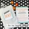 Boo Your Neighbor Halloween Printables