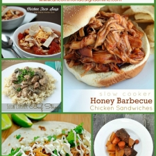 30 Slow Cooker Recipes...Dinner Ideas for Busy Families