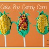 Cake Pop Candy Corn Treats