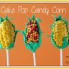 Cake Pop Candy Corn Treats