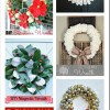 10 Christmas Ornaments and Wreaths and the Monday Funday Link Party {45}