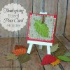 Thanksgiving Easel Place Card Holders