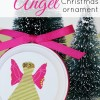 Fabric Angel Christmas Ornament