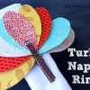 Turkey Napkin Rings... a Great Thanksgiving Craft!