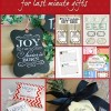 7 Printables for Last Minute Christmas Gifts and Monday Funday {49}