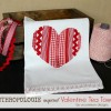 Anthropologie Inspired Valentine Tea Towel