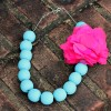 Chalk Painted Statement Necklace