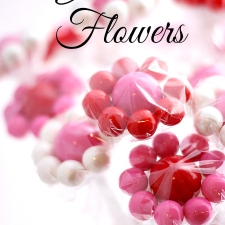 Gumball Flowers... A Valentine's Treat