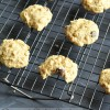 Banana and Dark Chocolate Chip Oatmeal Cookies