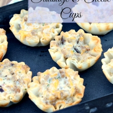 Sausage and Cheese Cups Recipe