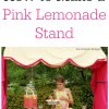 Make a Pink Lemonade Stand