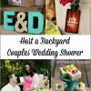 Backyard Couples Wedding Shower