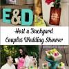 Backyard Couples Wedding Shower