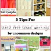 5 Tips for Stress Free School Mornings