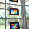 Glass Stained Frame Suncatchers