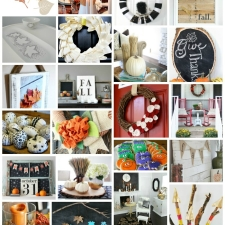 100 Fall DIY Projects and Crafts | Fall Blog Hop