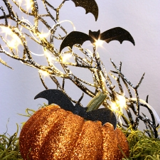 Halloween Cloche Decorating