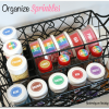 How to Organize Sprinkles
