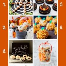 7 Fall Decor Ideas and 7 Halloween Treats