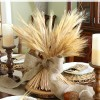 How To Make a Wheat Bundle Centerpiece