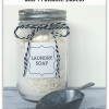 DIY Laundry Soap and Free Printable Labels