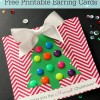 Gift Idea for Girls: Free Printable Earring Cards