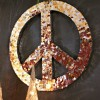 Peace Sign Wall Art for Christmas